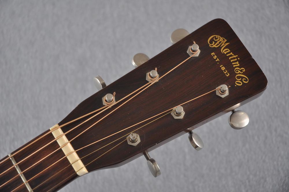 1955 Martin 0-18 Vintage Acoustic Guitar #143936 - Headstock