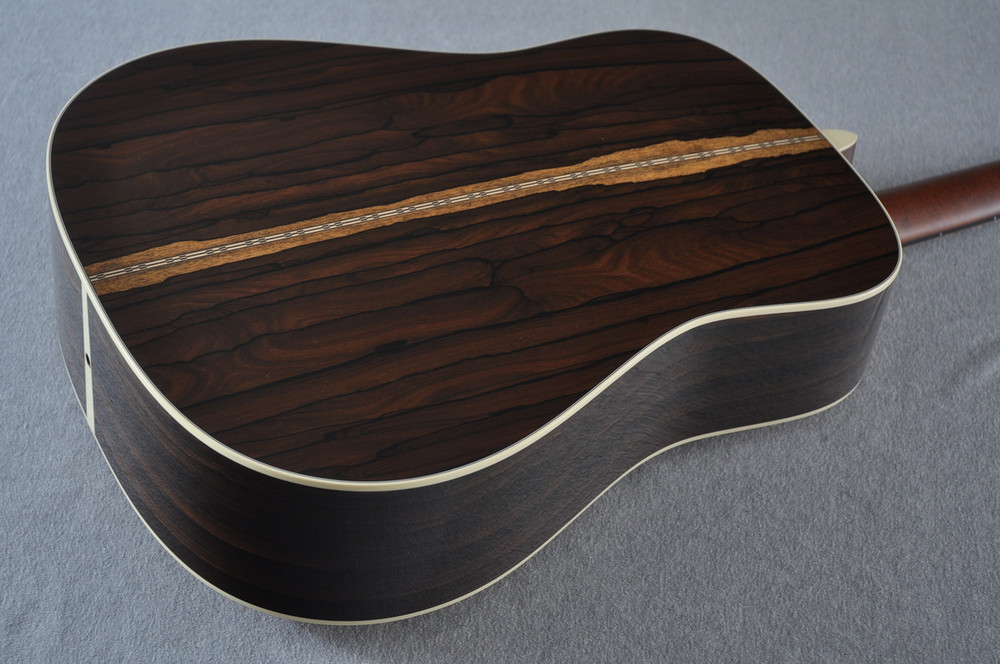 Martin Custom Shop D-28 (2017) Ziricote Rosewood Dreadnought Acoustic Guitar #2142391 - Back Angle