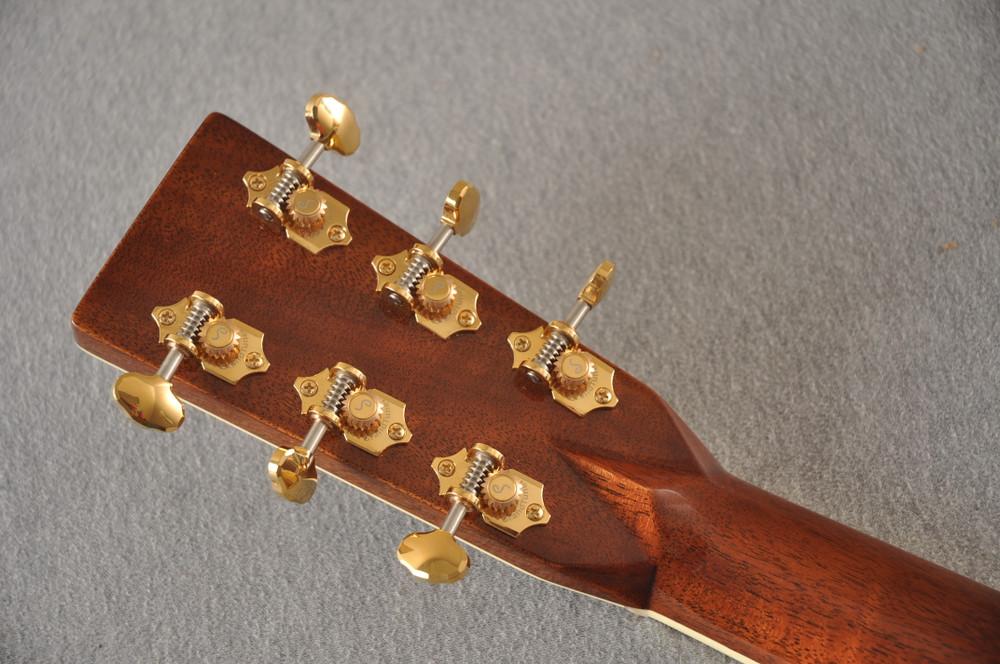 Martin OM-42 Standard Acoustic Guitar #2266329 - Back Headstock