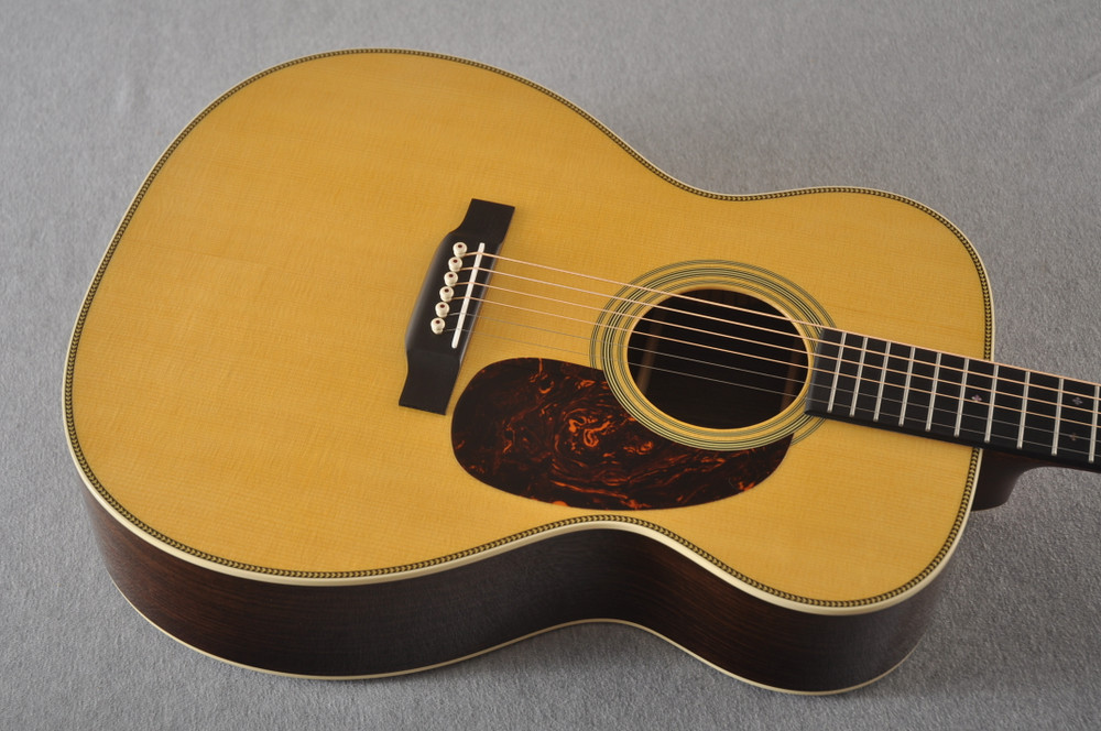 Martin 000-28 Acoustic Guitar #2286698 - Top Angle