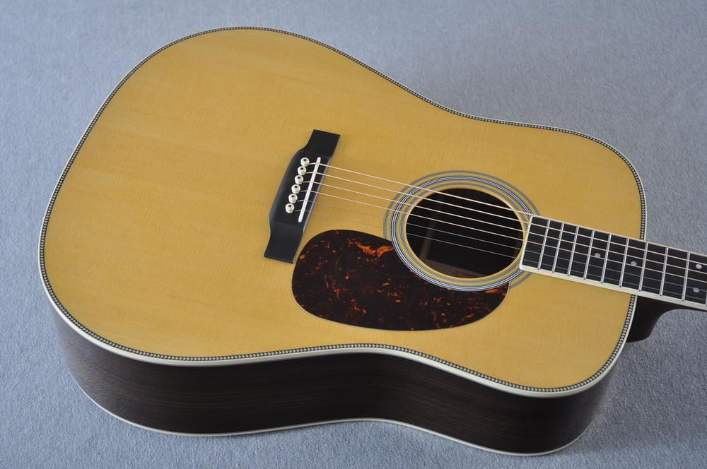 Martin HD-35 Dreadnought Standard Acoustic Guitar #2247741 - View 4