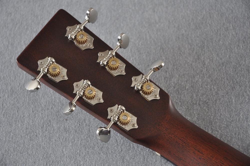 Martin OM-21 (2018) Natural Acoustic Guitar #2149340 - Back Headstock