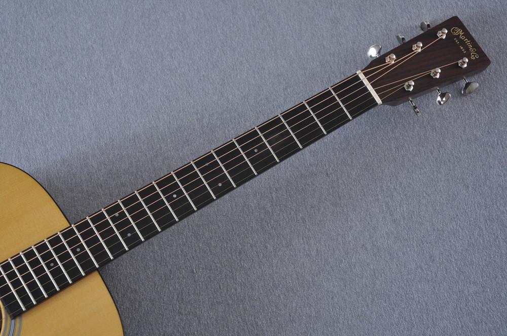 Martin OM-21 (2018) Natural Acoustic Guitar #2149340 - Neck