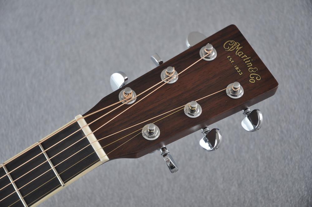 Martin D-35 (2018) Ambertone Standard Acoustic Guitar #2146016 - Headstock
