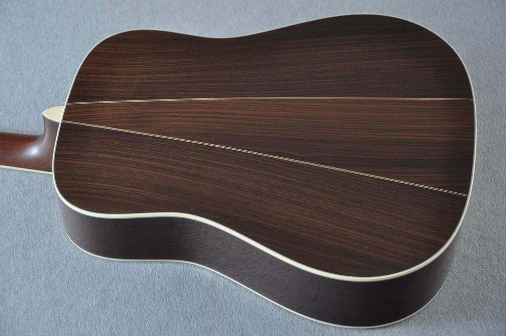 Martin D-35 (2018) Ambertone Standard Acoustic Guitar #2146016 - Back Angle