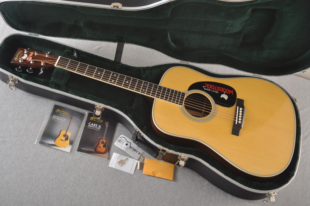 Martin D-35 Woodstock 50th Anniversary Acoustic Guitar #2272407 - Case
