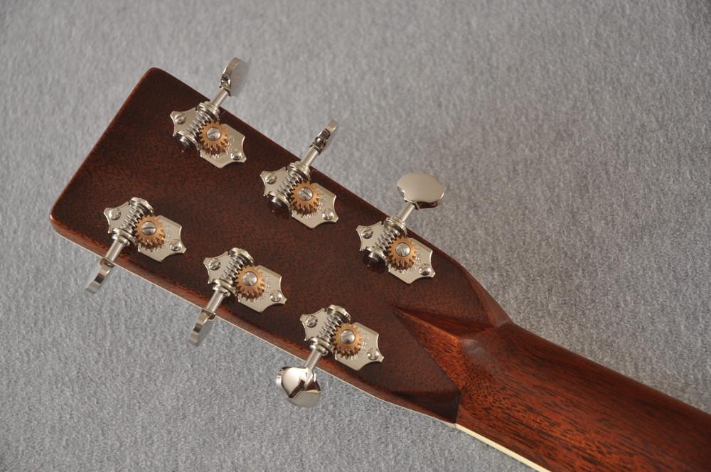Martin Custom Style 42 OM Adirondack Ambertone #2260979 - Back Headstock
