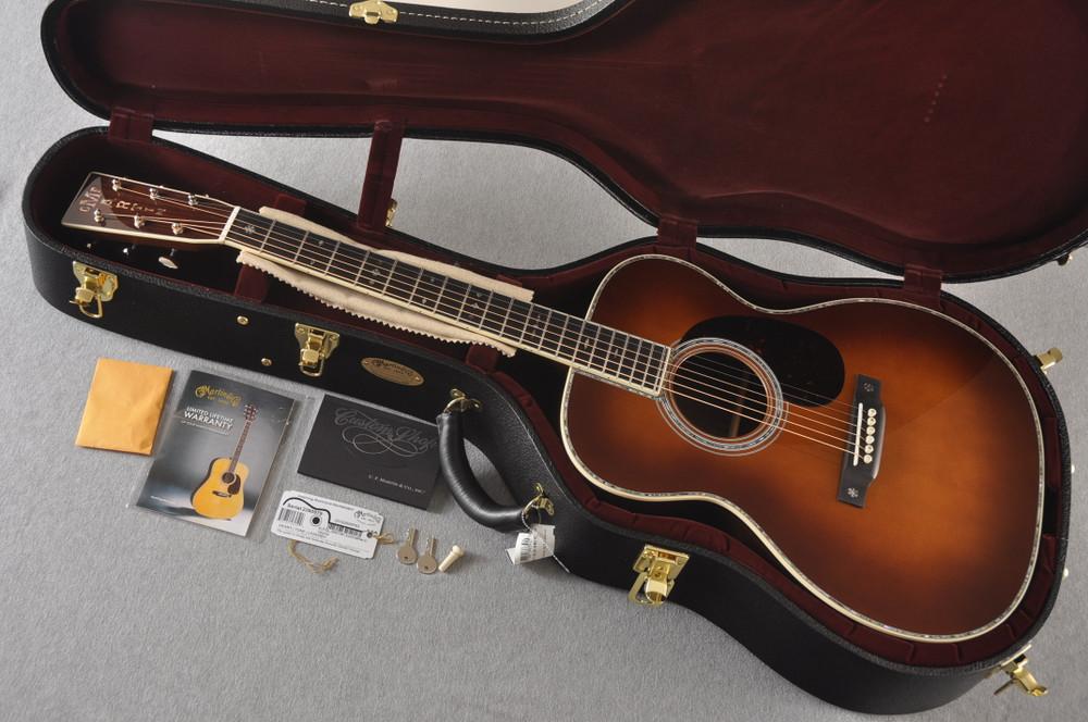 Martin Custom Style 42 OM Adirondack Ambertone #2260979 - Case
