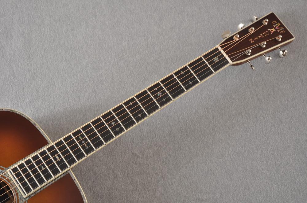Martin Custom Style 42 OM Adirondack Ambertone #2260979 - Neck