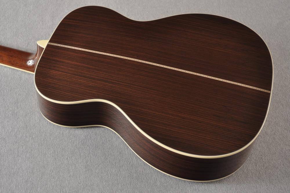 Martin Custom Style 42 OM Adirondack Ambertone #2260979 - Back Angle