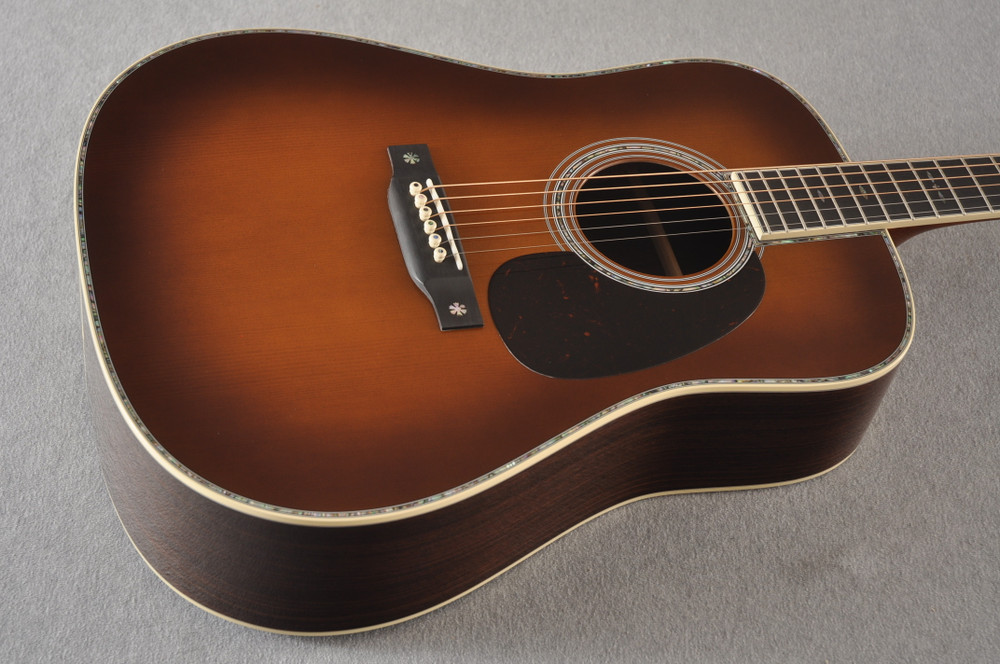 Martin Custom Style 42 Dreadnought Adirondack Ambertone #2260968 - Beauty