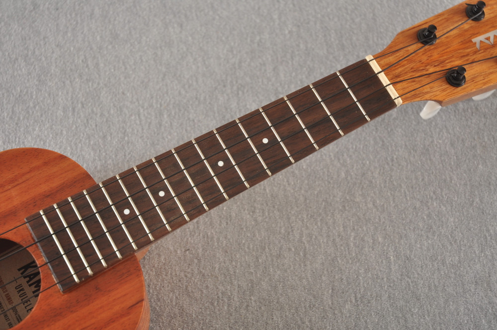 Kamaka Soprano Ukulele Standard HF-1 - Made in Hawaii - 200714 - View 4