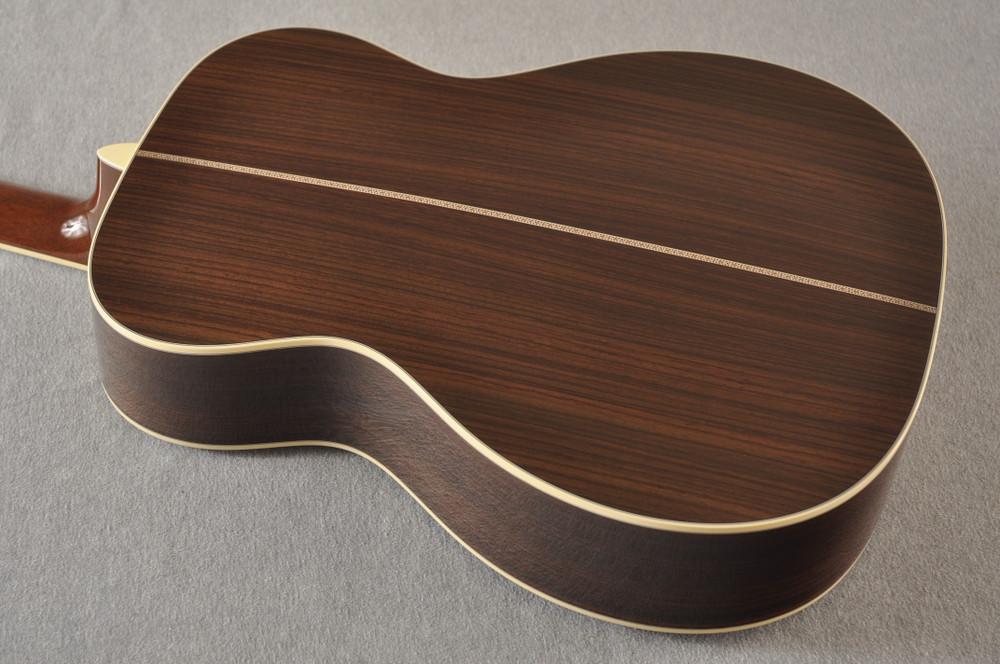 Martin Custom Style 42 OM Adirondack Sunburst #2260977 - Back