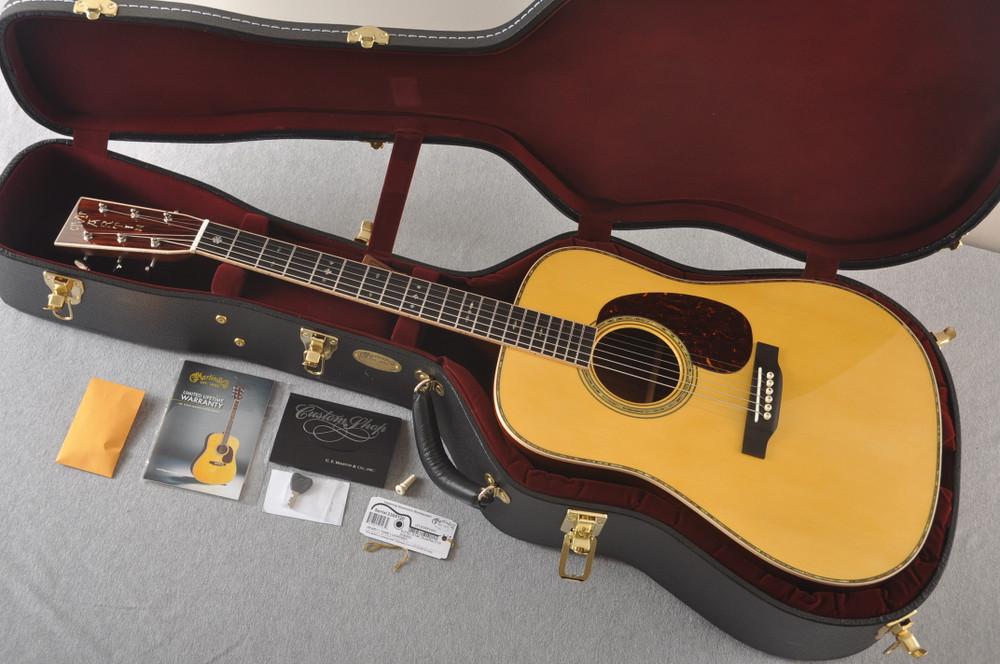 Martin Custom D Style 41 42 NAMM Adirondack Guatemalan #2305120 - Case