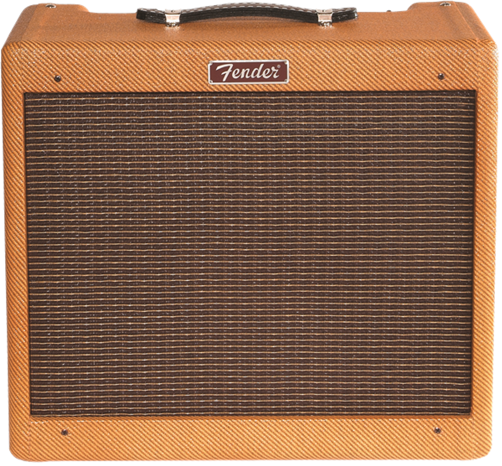 Blues Jr Tweed - Fender Blues Junior Lacquered Tweed - Guitar Amp - View 3