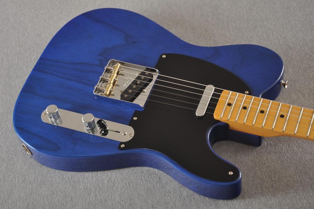 Fender Nocaster Custom Shop 51 NOS - Cobalt Blue - 6 lbs 13.9 ozs - View 6