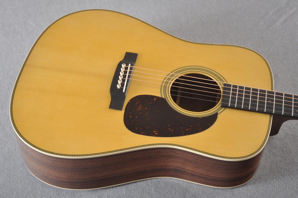Martin Custom HD Style 28 Adi Wild East Indian Rosewood #2305135 - Top Angle
