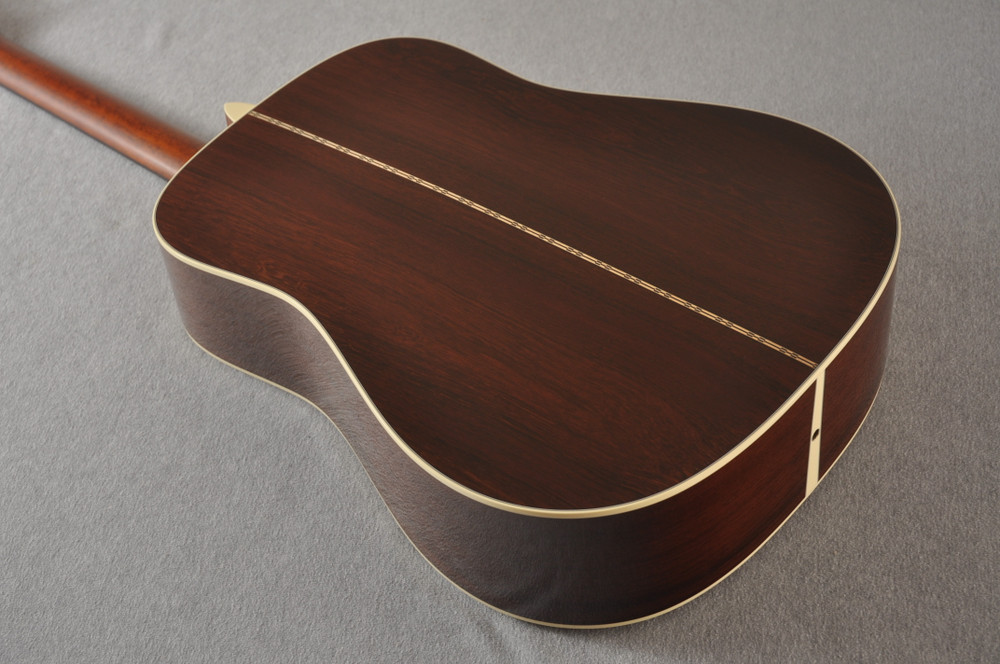 Martin Custom Madagascar Dreadnought Style 28 Acoustic #2142393 - Back