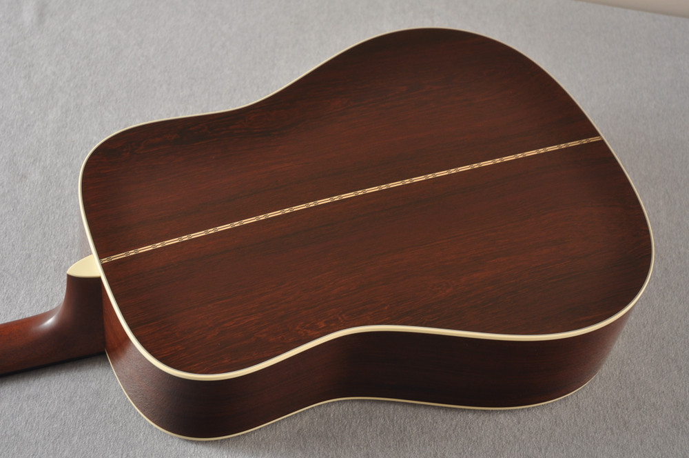 Martin Custom Madagascar Dreadnought Style 28 Acoustic #2142393 - Back Angle