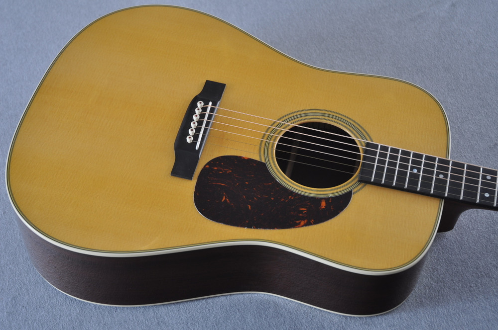 Martin Custom Madagascar Dreadnought Style 28 Acoustic #2142393 - Top
