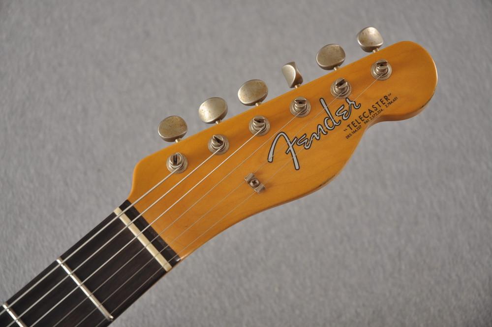 Fender Custom Shop '60s Telecaster Thinline Relic - Fiesta Red - View 4