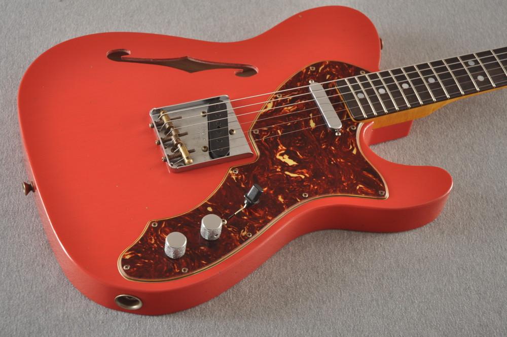 Fender Custom Shop '60s Telecaster Thinline Relic - Fiesta Red