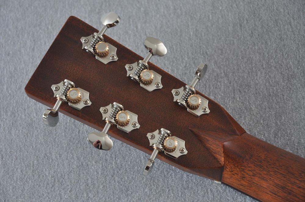 Martin HD-28 Ambertone Acoustic Guitar #2251550 - Back Headstock