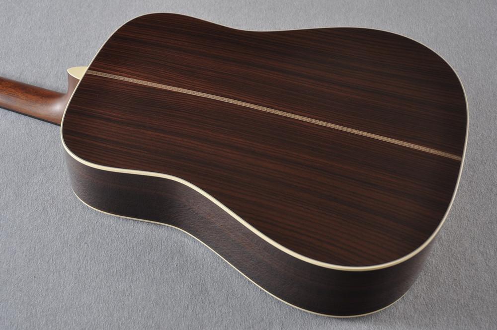 Martin HD-28 Ambertone Acoustic Guitar #2251550 - Back
