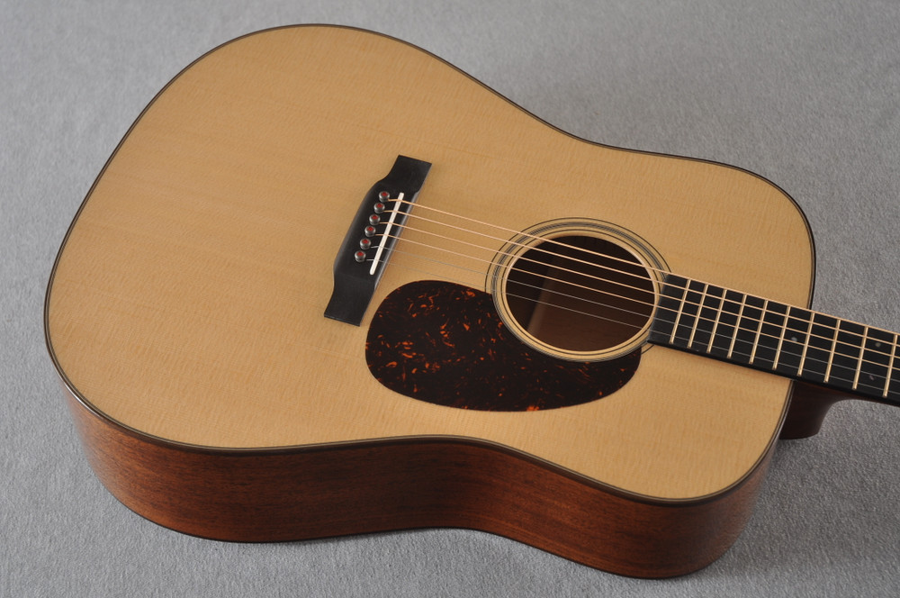 Martin D-18 Modern Deluxe Acoustic Guitar #2272458 - Top Angle