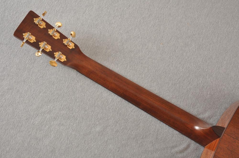 Martin D-18 Modern Deluxe Acoustic Guitar #2272458 - Back Neck
