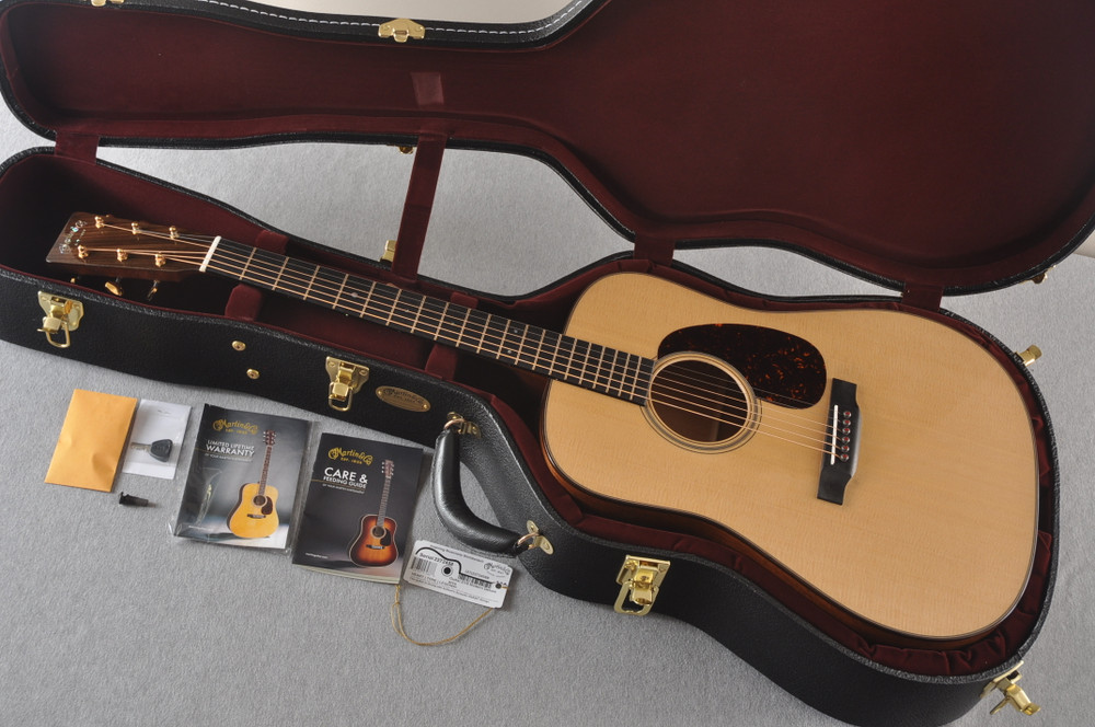 Martin D-18 Modern Deluxe Acoustic Guitar #2272458 - Case