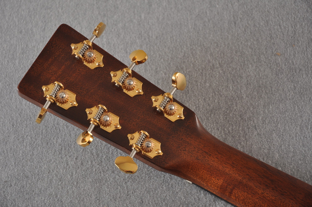 Martin D-18 Modern Deluxe Acoustic Guitar #2272458 - Back Headstock