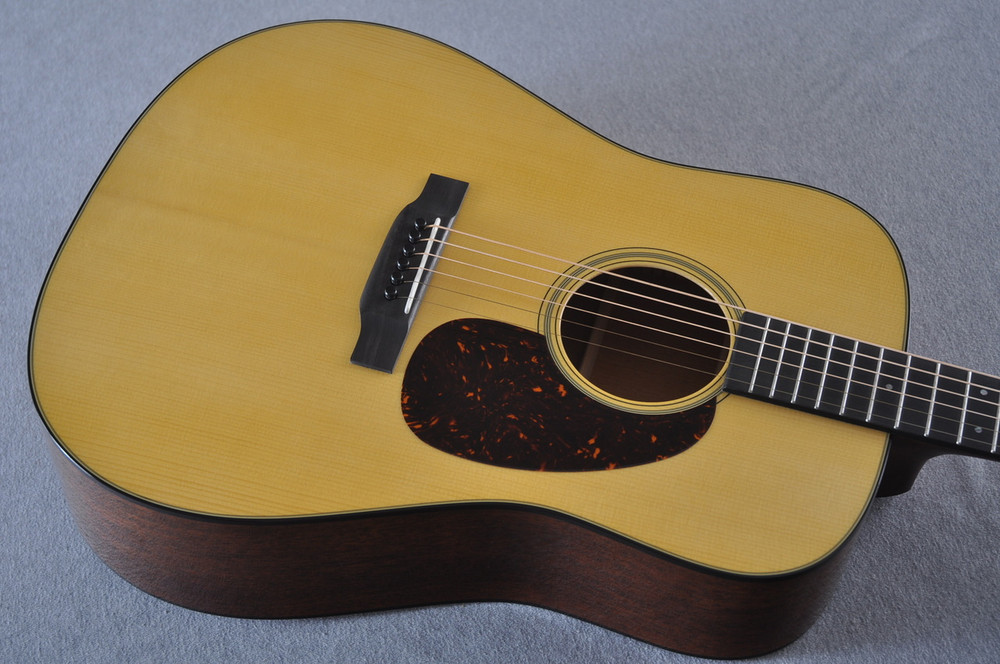 Martin Custom Shop D-18 Adirondack Spruce Acoustic Guitar #2164203 - Top Angle
