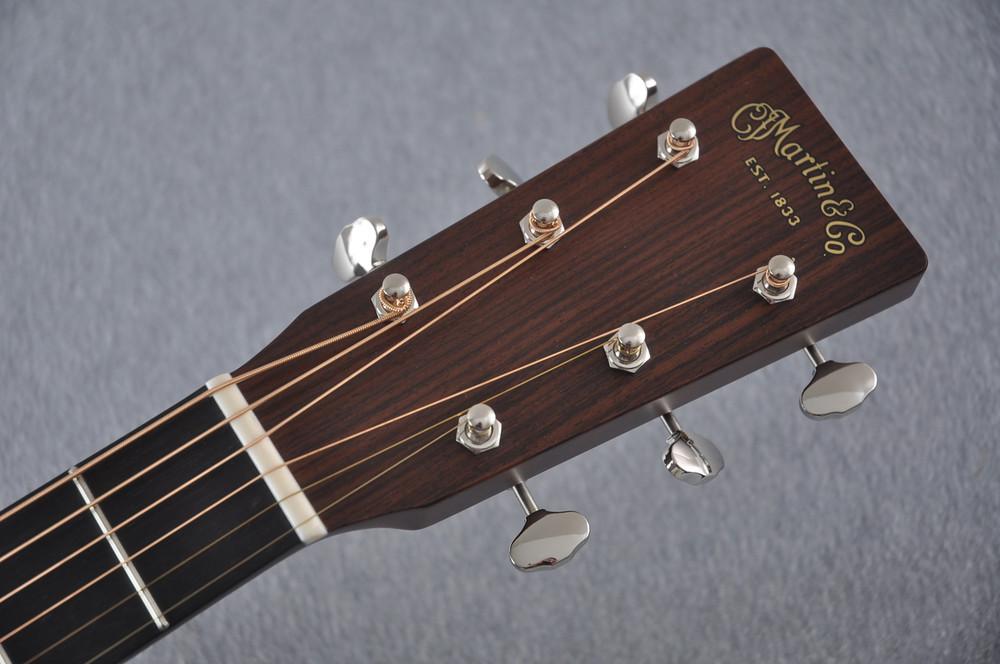 Martin Custom Shop D-18 Adirondack Spruce Acoustic Guitar #2164203 - Headstock