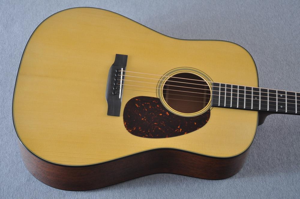 Martin Custom Shop D-18 Adirondack Spruce Acoustic Guitar #2164203 - Top