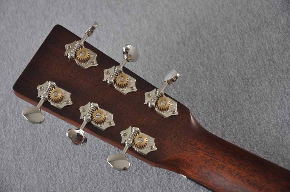 Martin Custom Shop D-18 Adirondack Spruce Acoustic Guitar #2164203 - Back Headstock