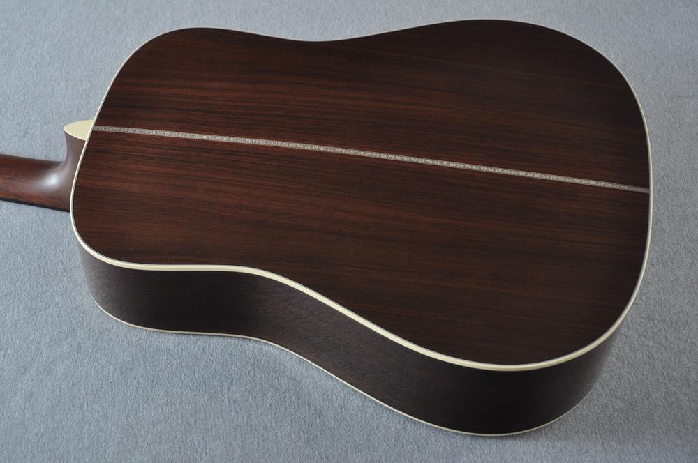 Martin HD-28 Sunburst Standard Dreadnought Acoustic #2253489 - Back