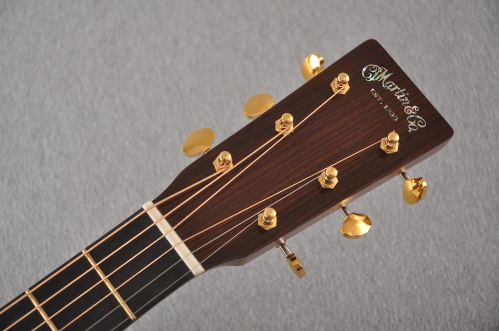 Martin D-18 Modern Deluxe Acoustic Guitar #2255383 - Headstock