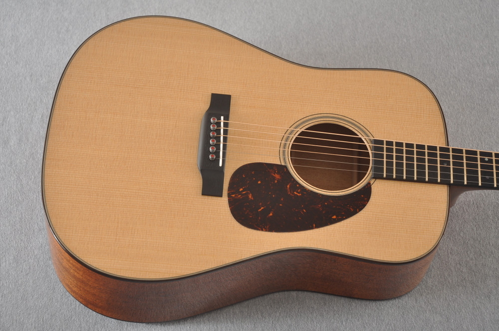 Martin D-18 Modern Deluxe Acoustic Guitar #2255383 - Top