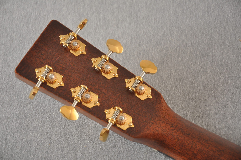 Martin D-18 Modern Deluxe Acoustic Guitar #2255383 - Back Headstock