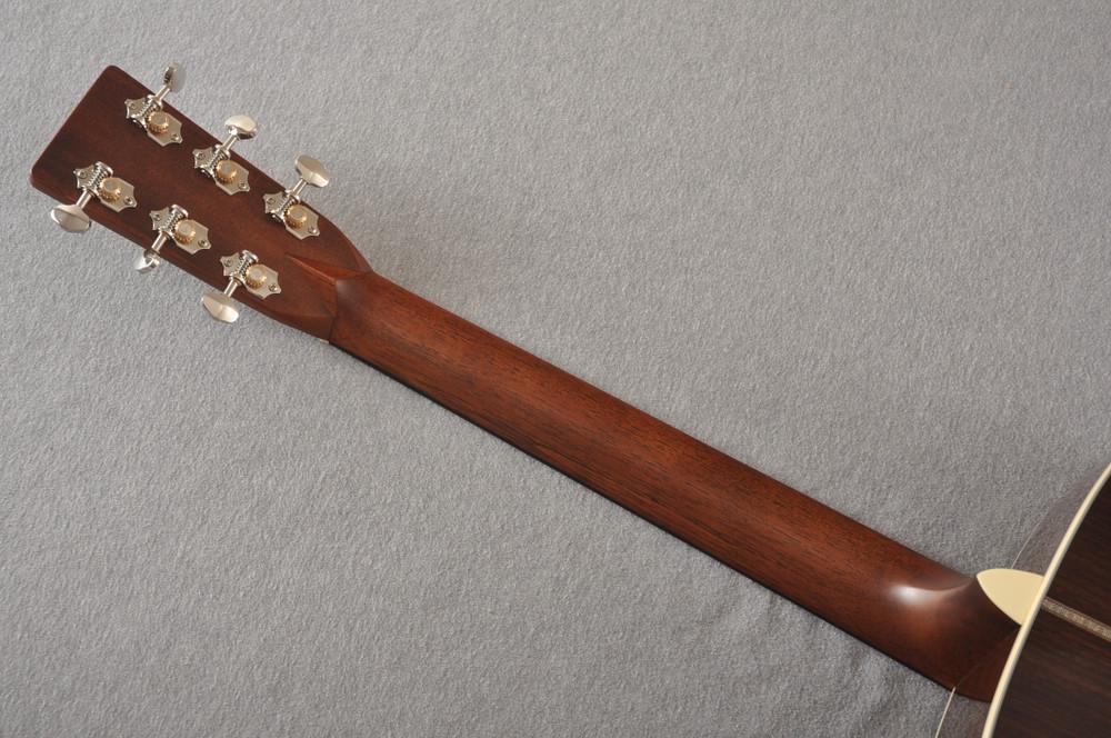 Martin HD-28 Dreadnought Acoustic Guitar #2276884 - Back Neck