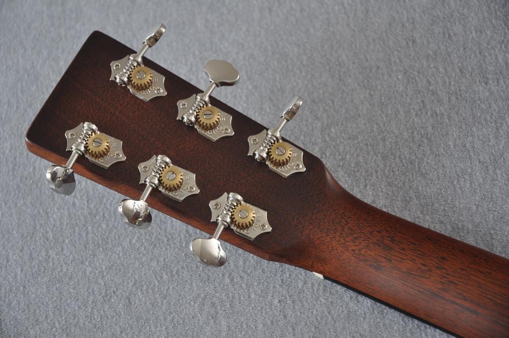 Martin Custom Shop 0-18 Adirondack Spruce Ambertone Acoustic Guitar #2166928 - Back Headstock