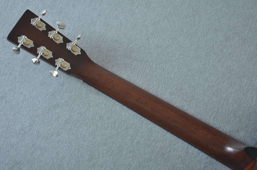 Martin Custom Shop 0-18 Adirondack Spruce Ambertone Acoustic Guitar #2166928 - Back Neck
