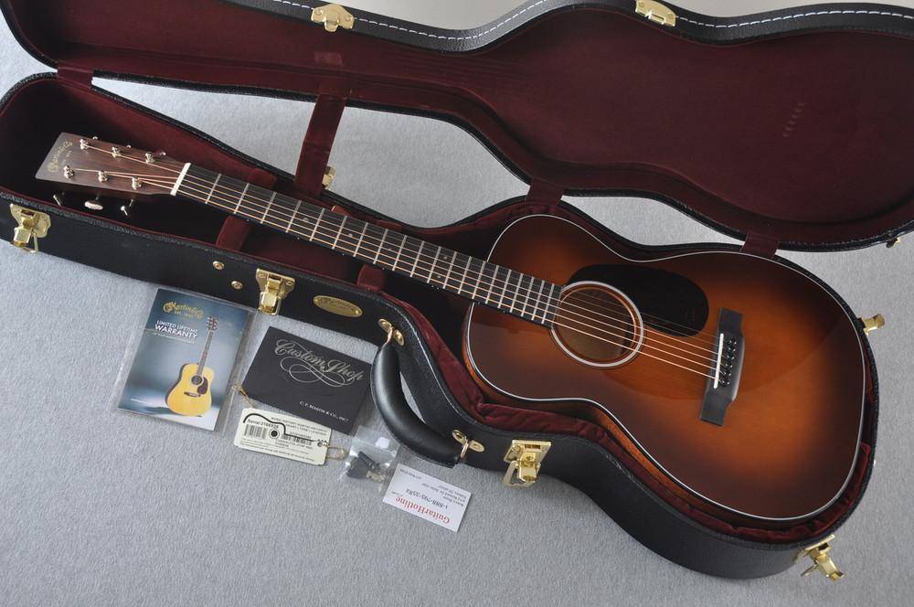 Martin Custom Shop 0-18 Adirondack Spruce Ambertone Acoustic Guitar #2166928 - Case