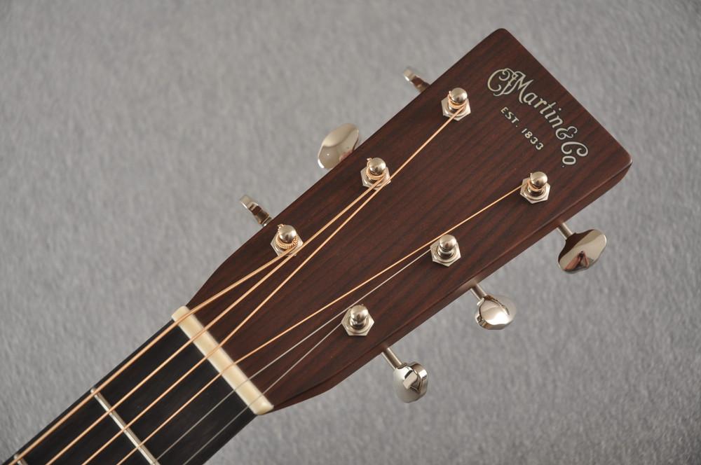 Martin Custom 28 NAMM Adirondack Guatemalan Dread GE #2291268 - Headstock