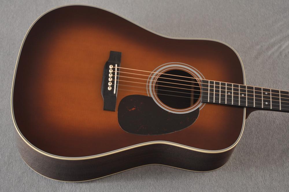 Martin D-28 Ambertone Standard Dreadnaught Guitar #2255666 - Top