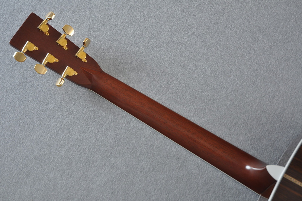 2012 Martin J-40 Jumbo Acoustic Guitar #1607074 - Back Neck