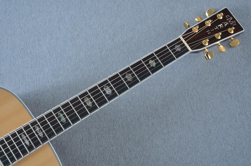 2012 Martin J-40 Jumbo Acoustic Guitar #1607074 - Neck