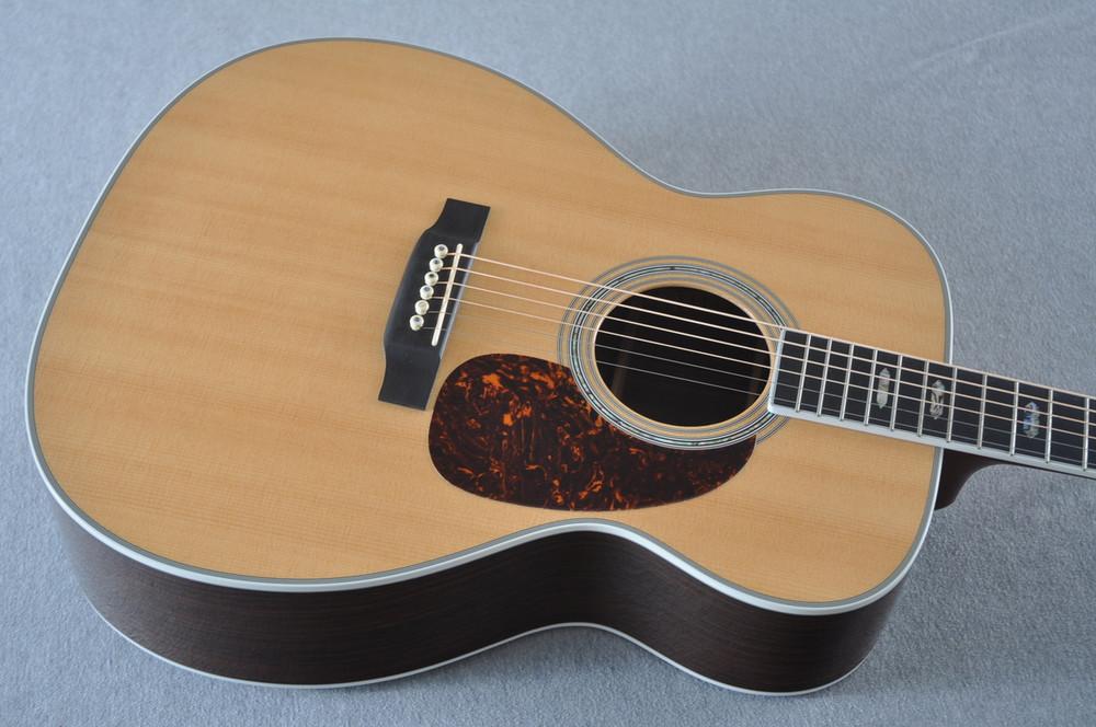 2012 Martin J-40 Jumbo Acoustic Guitar #1607074 - Top Angle