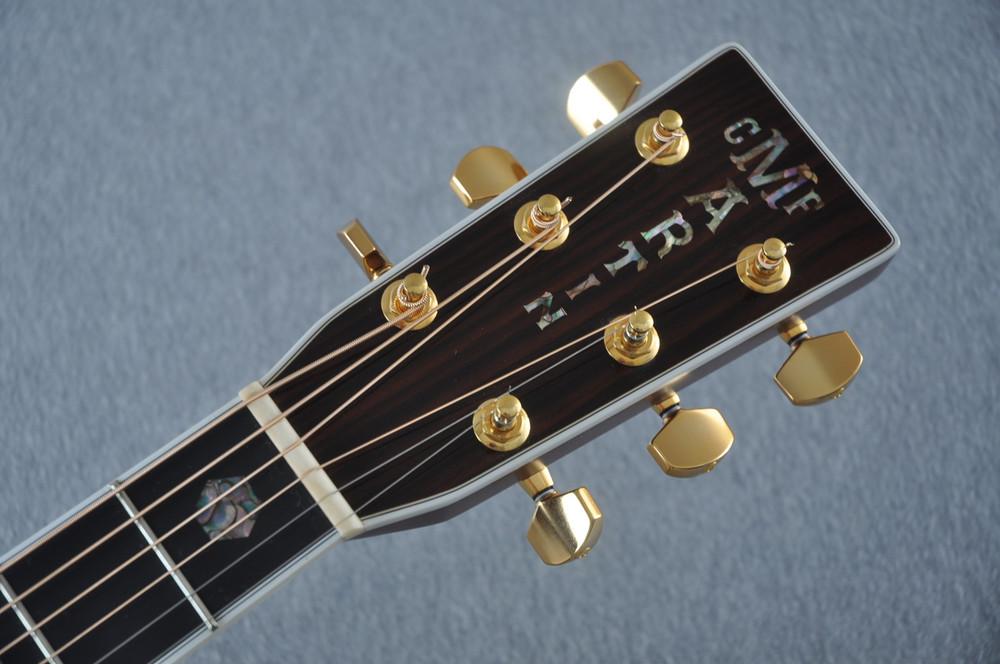 2012 Martin J-40 Jumbo Acoustic Guitar #1607074 - Headstock
